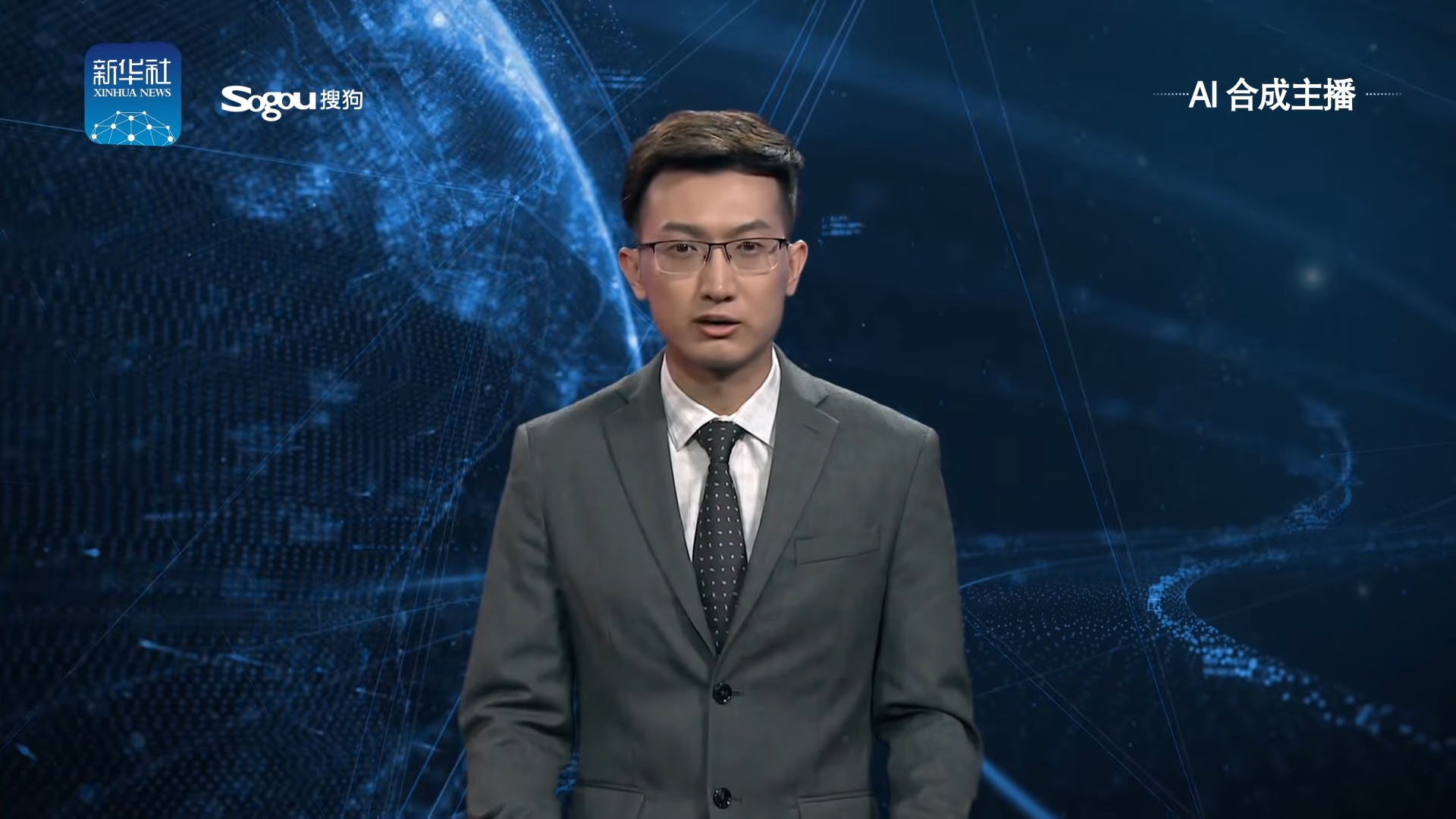 xinhua primo anchorman virtuale ai